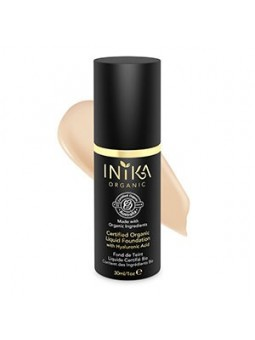 INIKA Organic Liquid Found with Hyaluronic Acid - Nude