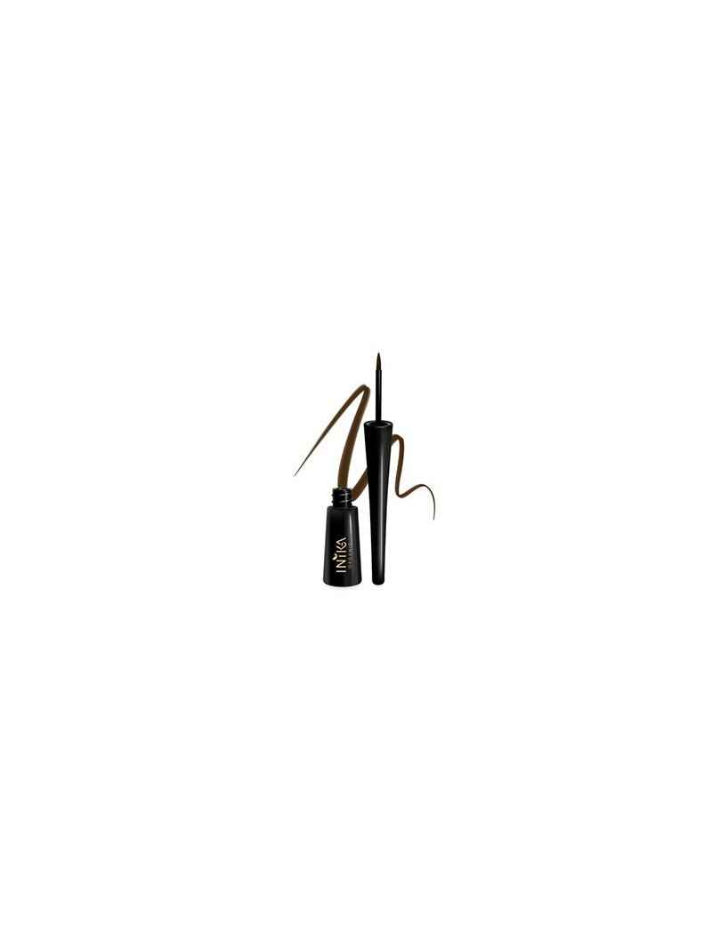 INIKA Organic Liquid Eyeliner - Brown